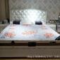 热销特价现代简约真皮床 小户型简欧 北欧软体床 一件代发批发