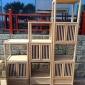 实木博古架 简约现代货柜 茶室新中式榆木书柜 禅意家具 创意博古架展示柜