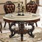 工�S直�N批�l�W式大理石��木框架雕花美式�A形餐桌椅�M合�мD�P