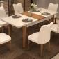 ��淇家具小�粜�W式折�B家用��木�易餐桌椅�M合�S家直�N